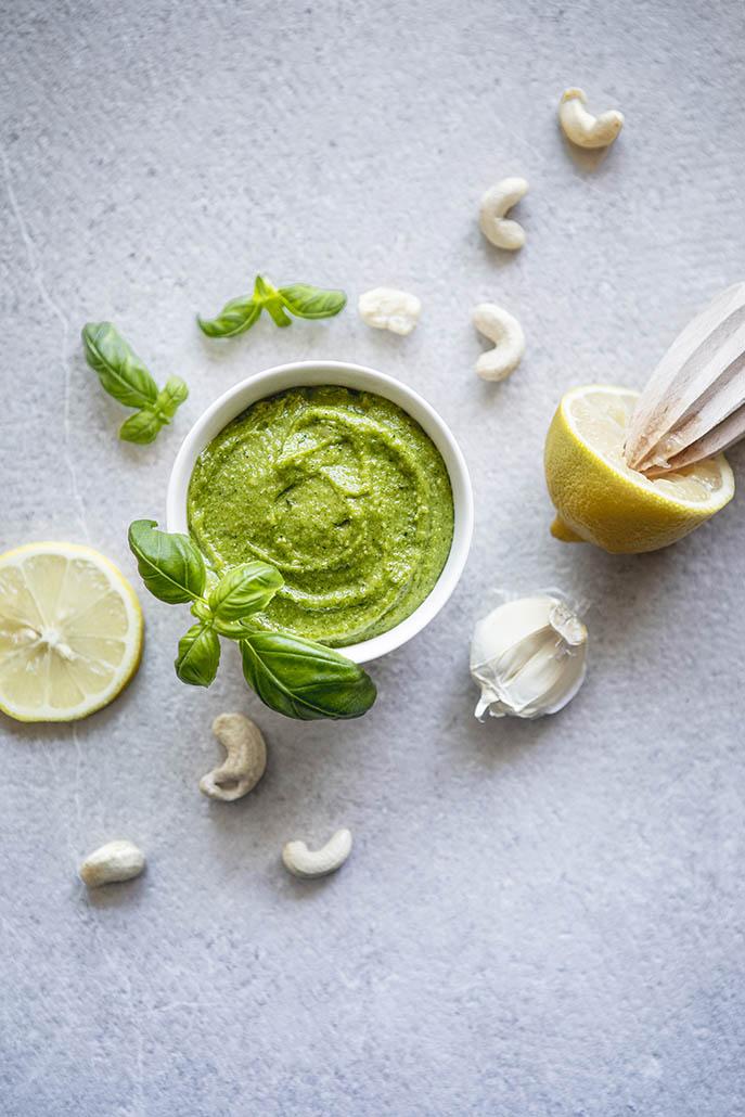 recept vegan groene pesto