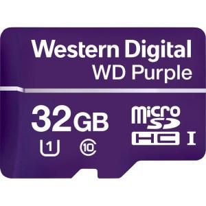 WD Purple MicroSD geheugenkaart 32 GB, microSDHC