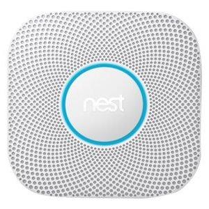 Nest Protect rook- en koolmonoxidemelder 2e generatie (batterij)