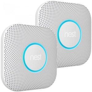 Nest Protect rook- en koolmonoxidemelder 2e generatie 2-pack (batterij)