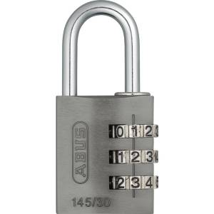 ABUS ABVS46622 Hangslot 31.5 mm Titanium Cijferslot