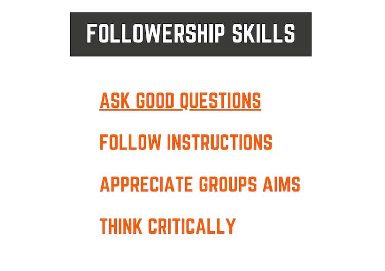 Followership Skills