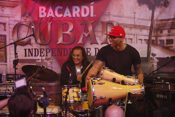 BACARDI Rum's Cuban Independence Day event in New York, Wednesday, May 20, 2015. (Photo/Stuart Ramson for Bacardi)