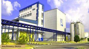 Ama Brewery, Enugu