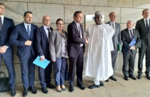 EU Ambassadors meet with Governor Sani Bello of Niger State in Abuja