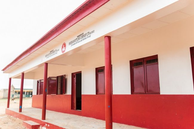 New Classroom Block & Furniture donated to Medile Primary School