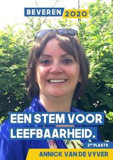 Annick Van de Vyver - bankadviseur – ocmw-raadslid