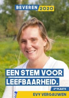 Evy Vergauwen - master in de pedagogische wetenschappen. agoog zorgsector ter ondersteuning van personen met een beperking.