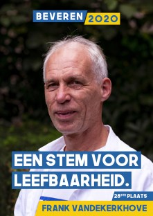 Frank Vandekerkhove - Leraar