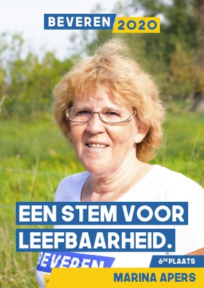 Marina Apers - werkneemster Kerncentrale Doel