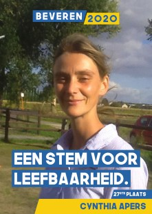 Cynthia Apers Beveren 2020