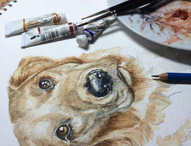 dog-painting-in-progress