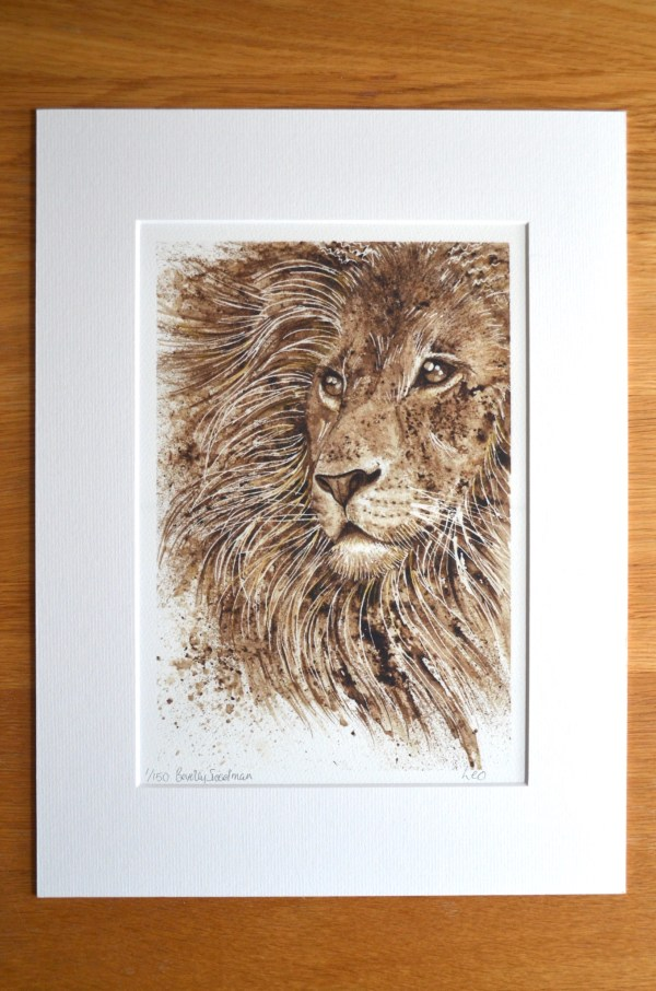 leo-lion-print