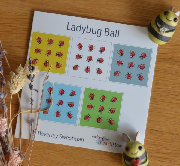 ladybug-ball-card-set