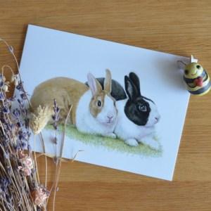 rabbits-card