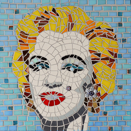 Marilyn Monroe Mosaic wall art