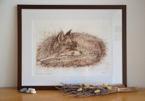 walnut-fox-painting