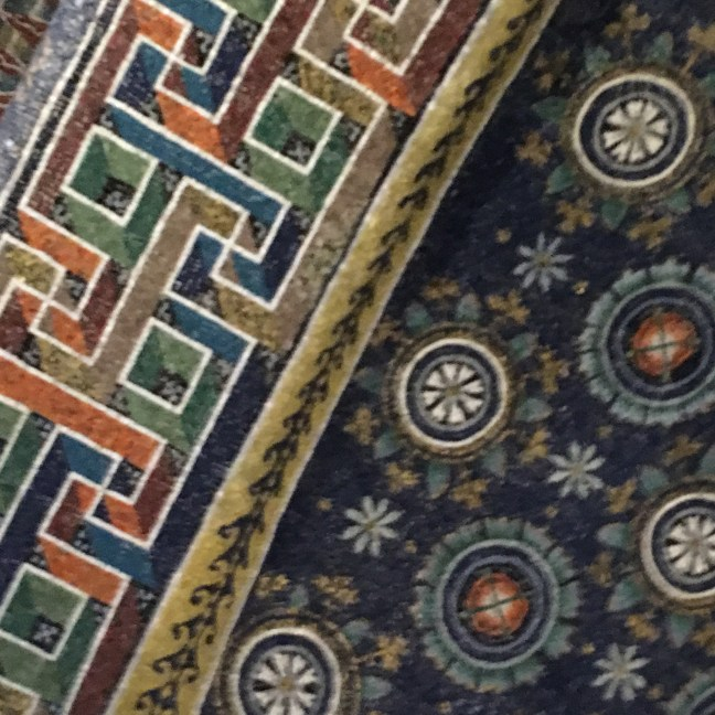Ravenna ceiling mosaic