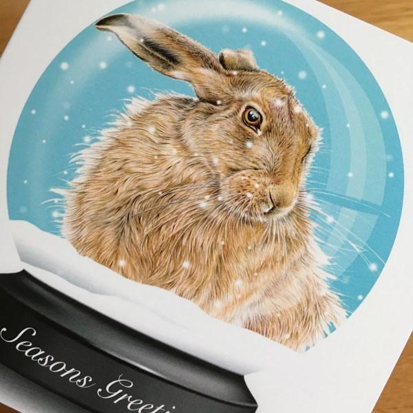 snowglobe-card-hare