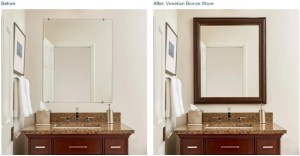 Mirror Mate Before and After - Now Available at Beverly Glass