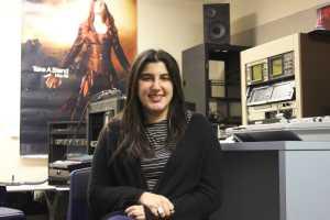 Sandy Sikavi, reporter for KBEV