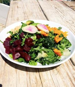 The Malibu Farm cafe Vegan Chop salad. Photo by: Juliette Deutsch