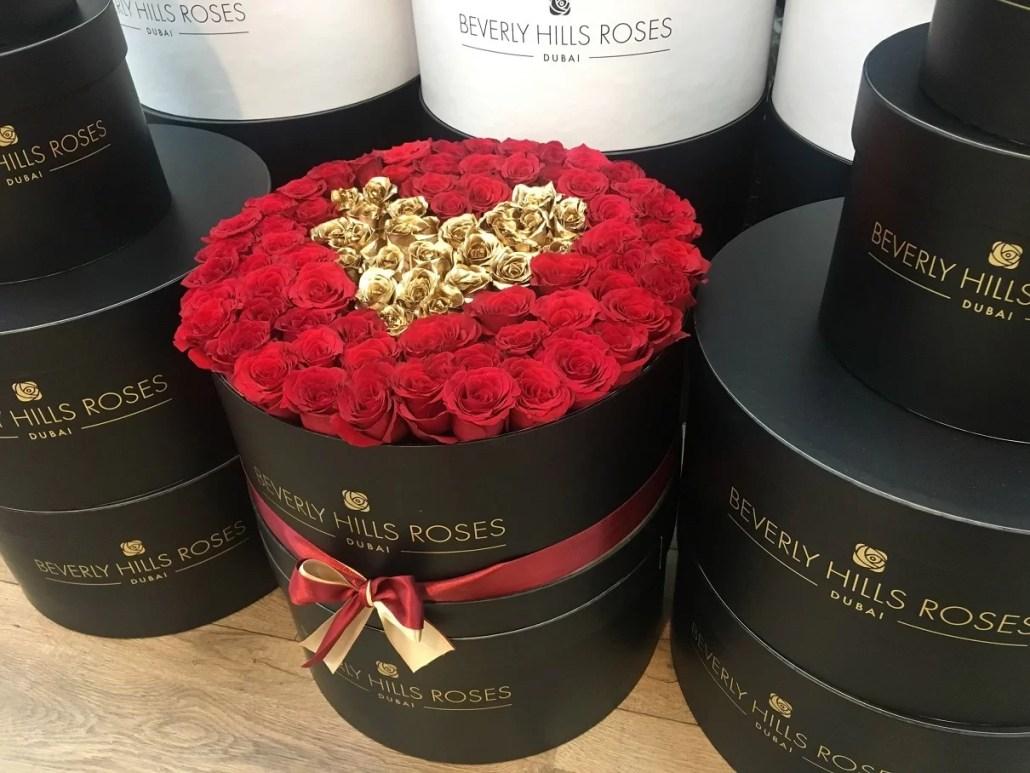 Beverly Hills Roses Valentine box