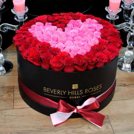 Large-black-box-in-passion-Beverly-Hills-Roses
