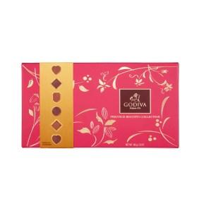 Godiva Chocolate Biscuit Closed Tin Small
