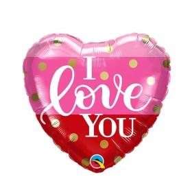 I Love You valentines Balloon
