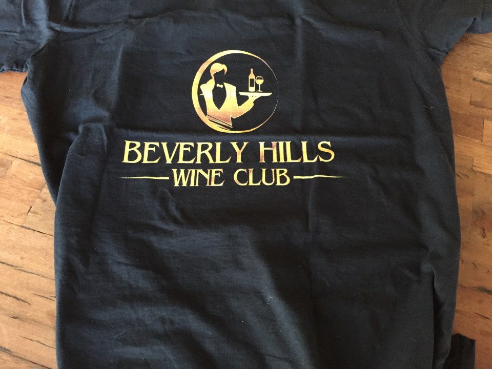 Beverly Hills Wine Club Official T-Shirt