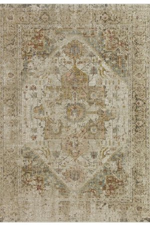 Beverly rug alcantras collection beige and pink area rug g0398