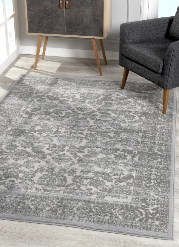 Beverly rug bella collection traditional area rug 00961a grey