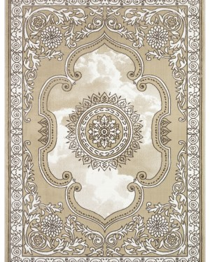 Beverly rug crosse collection geometric area rug 3553a beige