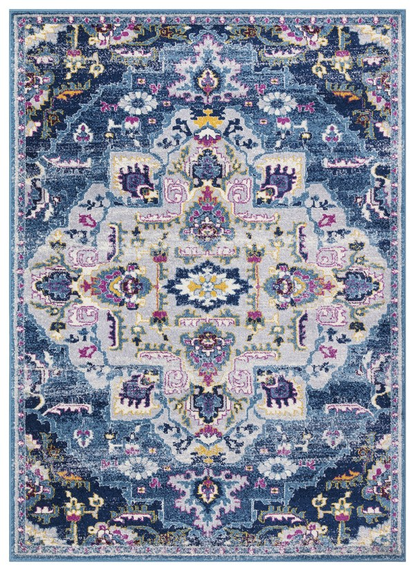 Beverly rug harmony Collection Bohemian Vintage Oriental Area Rug
