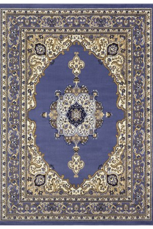 beverly rug princess collection oriental medallion area rug 811 blue