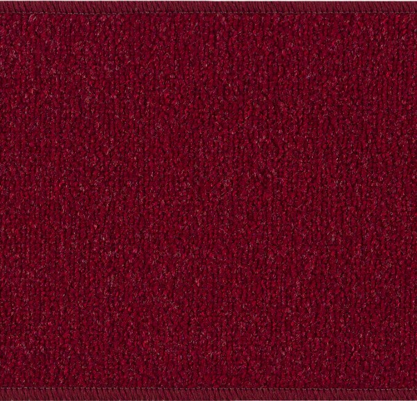 "Beverly Rug Solid Color Indoor Carpet Stair Treads 8.5""x26"" Red"