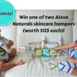 GIVEAWAY: Win one of two Aleva Naturals skincare hampers (worth $125 each)!
