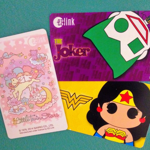 Singapore EZlink card - Little Twin Stars, Wonder Woman