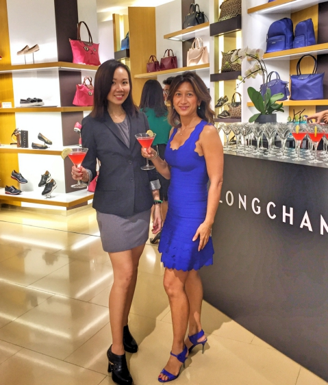 Longchamp with Harper's Bazaar Singapore
