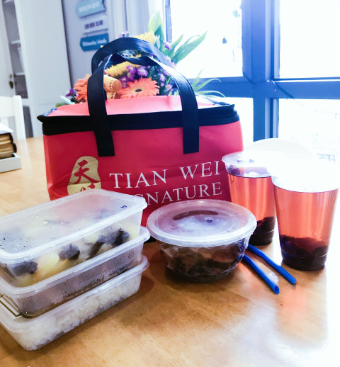 Tian Wei Signature confinement food catering