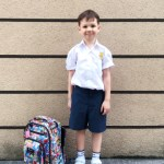 HUNTER STARTS SCHOOL