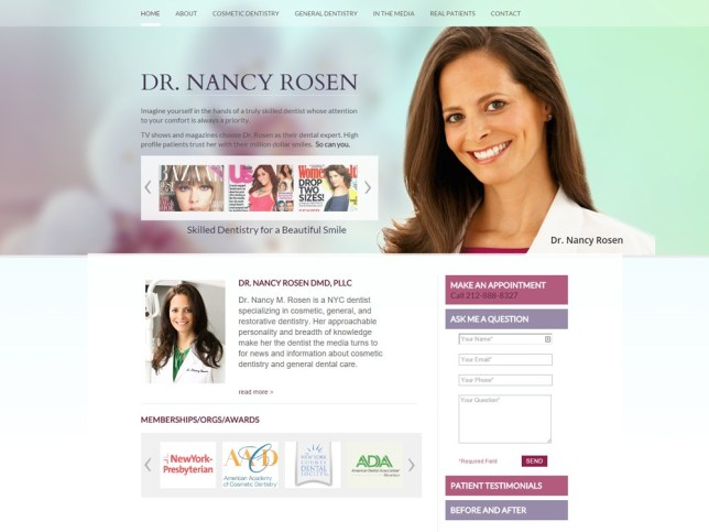 Dr Nancy Rosen, betsy kent, be visible, bevisible