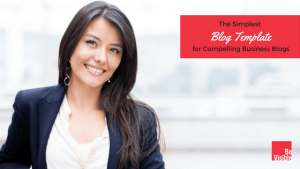 blog template Be Visible