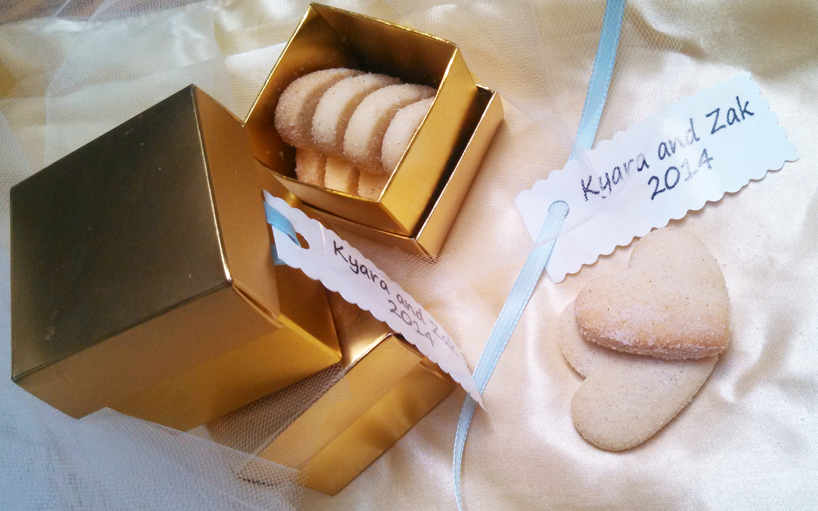 Wedding Favors of the Southwest with biscochitos