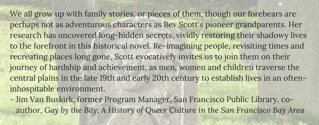 Testimonial for Bev Scott, by J Van Buskirk