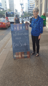 Laurel Bookstore, Reading July 19 2017