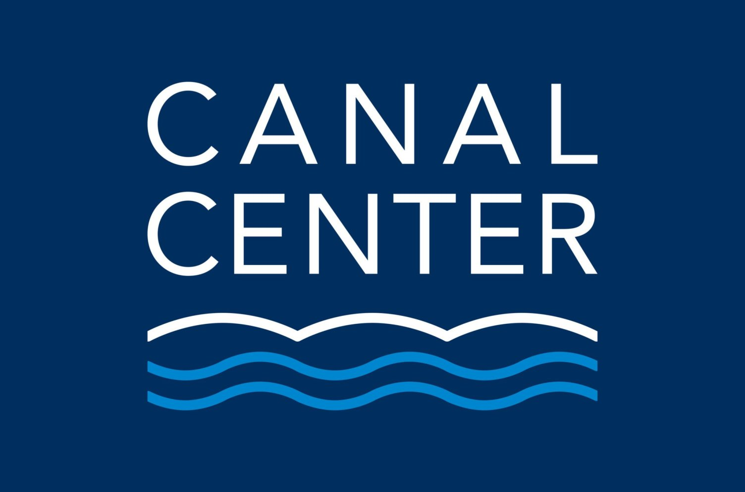 Canal Center Reversed Logo