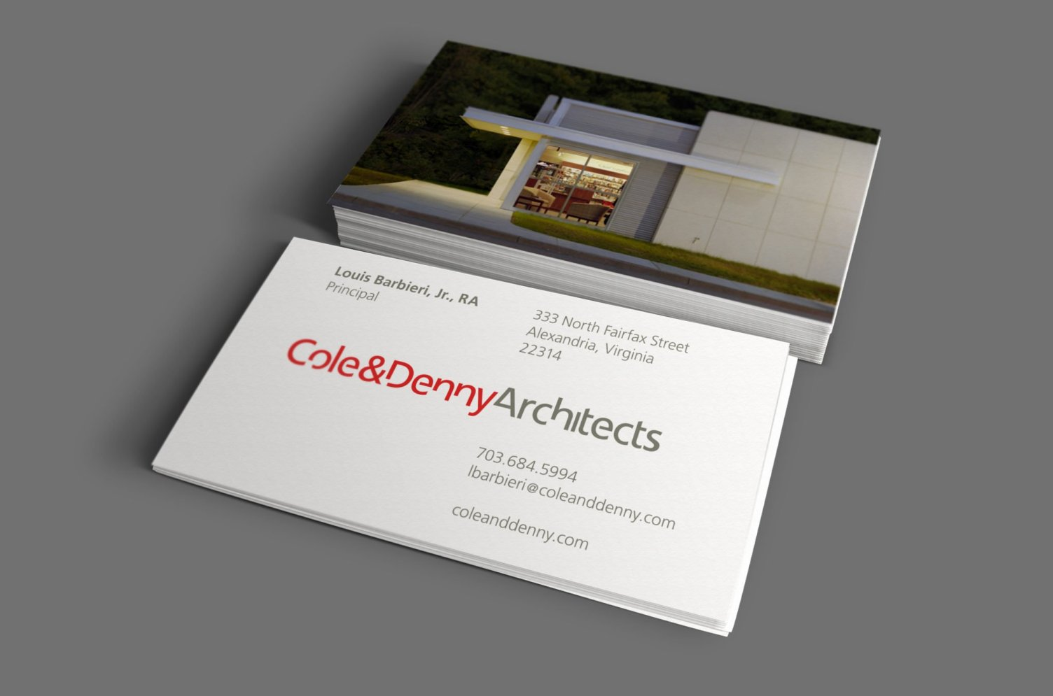 Cole + Denny Business Cards