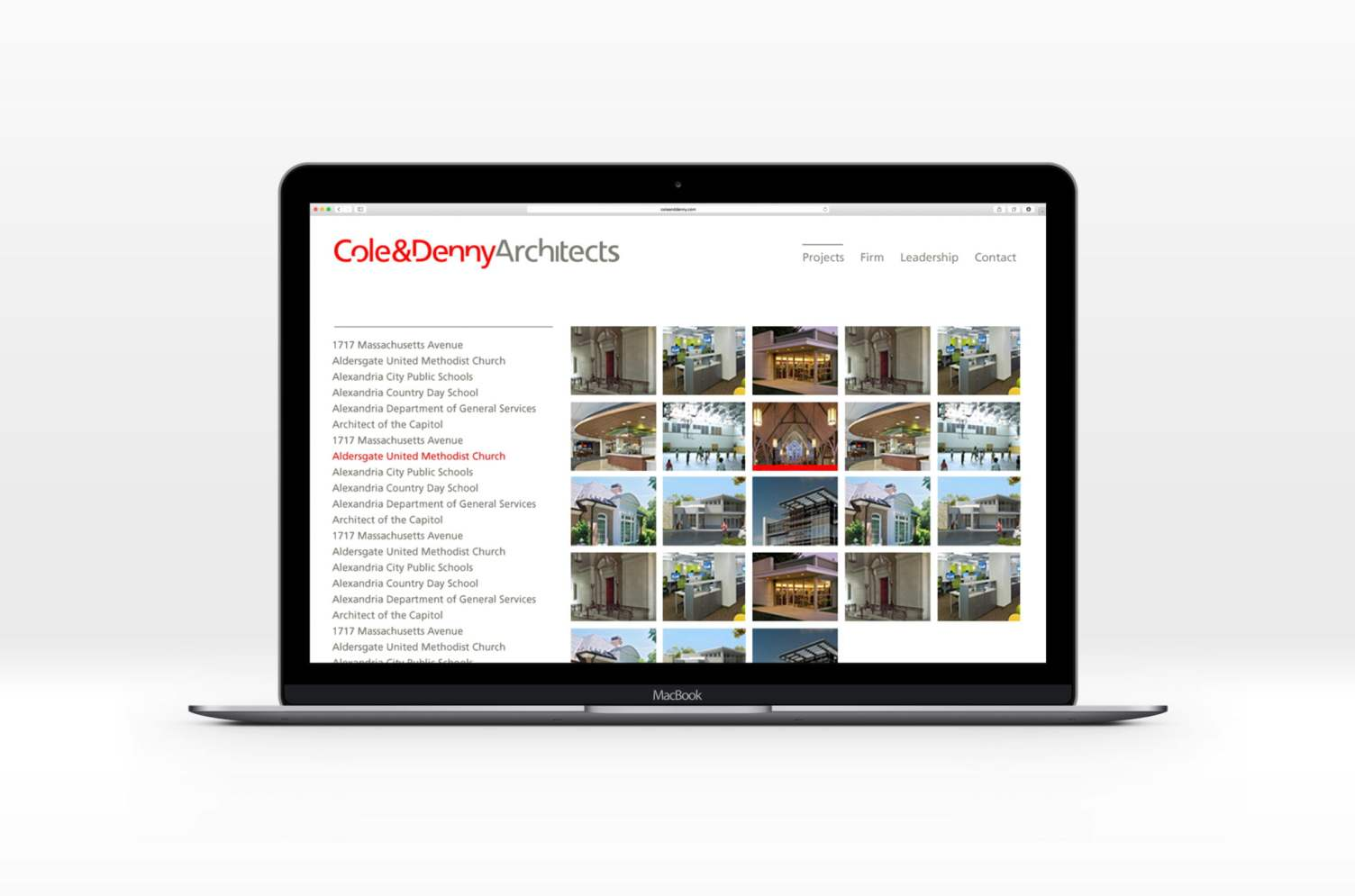 Cole + Denny Website